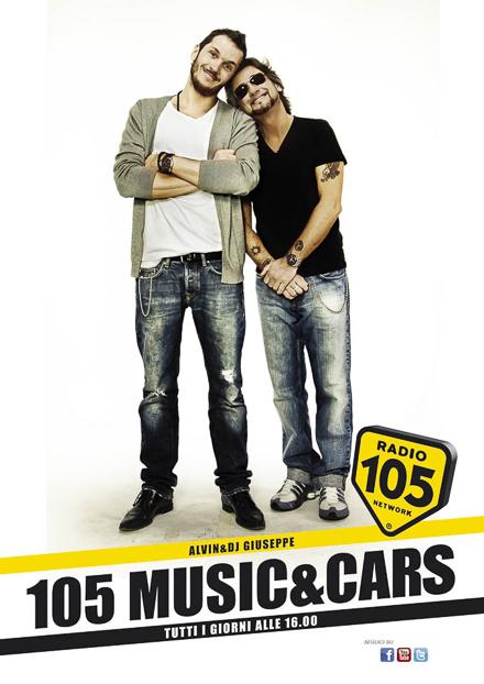 radio 105 adv – campagna pubblicitaria 2012