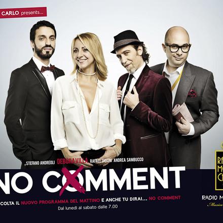 """radio monte carlo adv – campagna pubblicitaria """"no comment"""" 2013"""