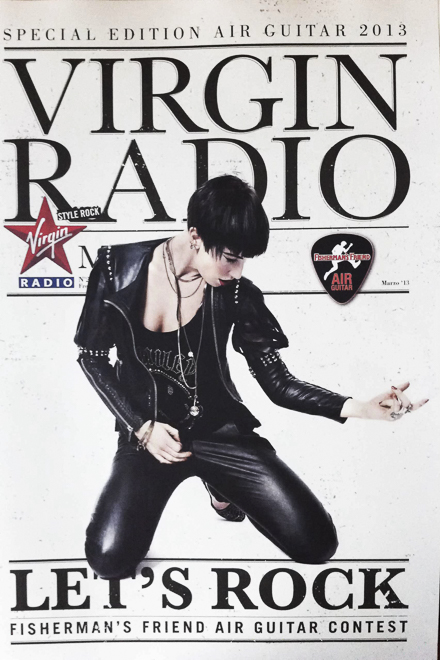 vittoria hyde for virgin radio magazine – photo cover