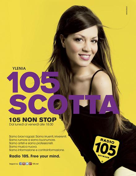 radio 105 adv – 105 no stop – campagna pubblicitaria 2014