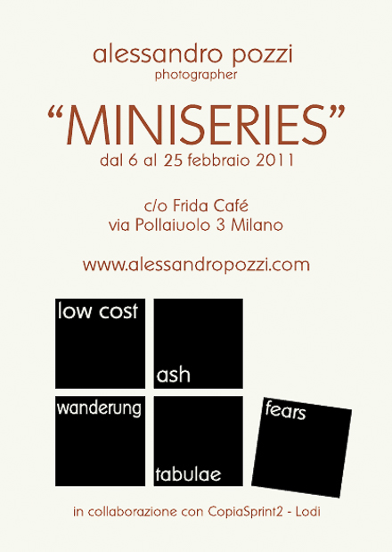 miniseries exhibition @fridacaffè